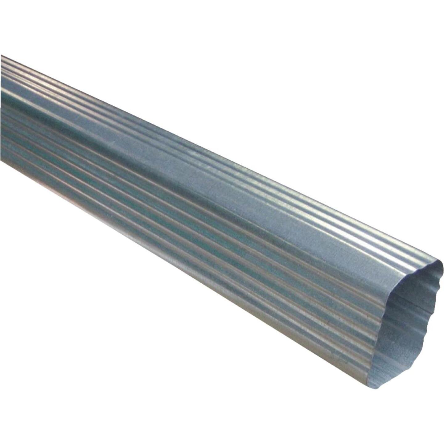 NorWesco 2-3/8 In. x 3-1/4 In. Galvanized Downspout Image 1