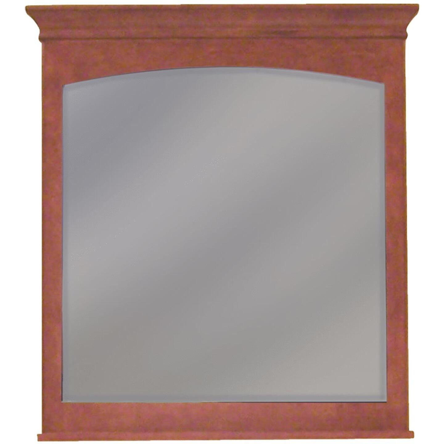 Sunny Wood Expressions Cinnamon 36 In. W x 40 In. H Vanity Mirror Image 1