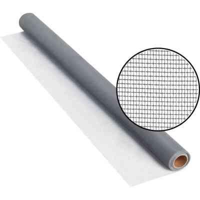 Phifer 36 In. x 25 Ft. Gray Fiberglass Screen Cloth