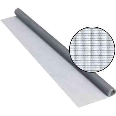 Phifer 48 In. x 84 In. Gray Fiberglass Screen Cloth Ready Rolls