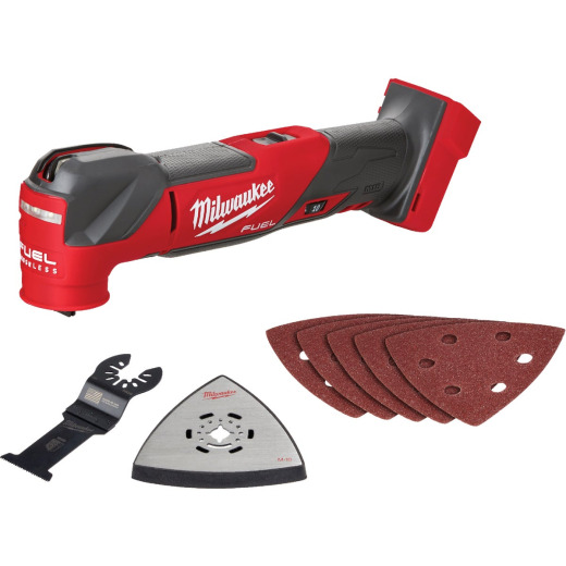 Milwaukee M18 FUEL 18 Volt Lithium-Ion Brushless Cordless Oscillating Multi-Tool (Bare-Tool)
