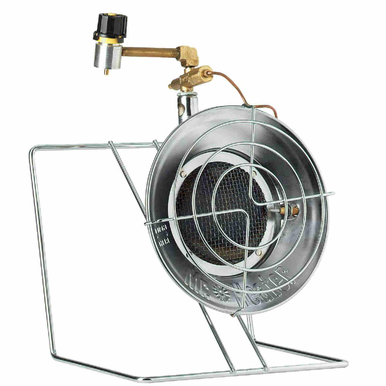 MR. HEATER 15,000 BTU Radiant Tank Top Cooker/Propane Heater Image 1