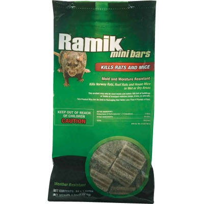 Ramik Bar Rat And Mouse Poison, 4 Lb.
