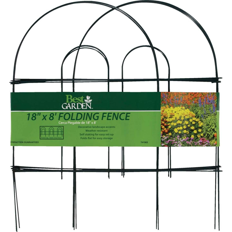 Best Garden 8 Ft. Wire Folding Fence Image 3