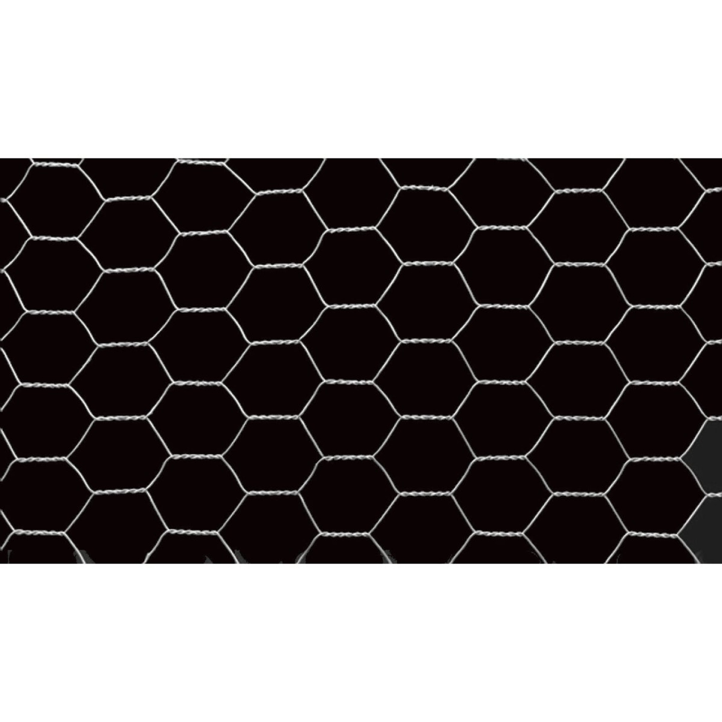 1 In. x 36 In. H. x 10 Ft. L. Hexagonal Wire Poultry Netting Image 4