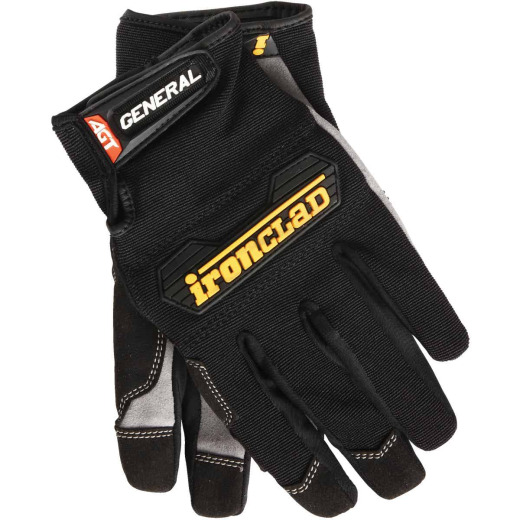 Ironclad General Utility Men's Large Synthetic Suede High Performance Glove