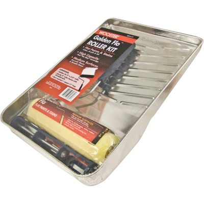 Wooster Golden Flo Roller & Tray Set (3-Piece)