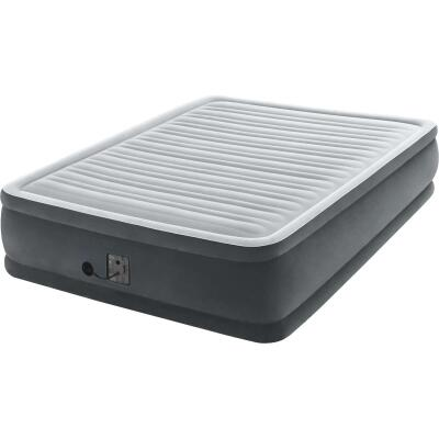 Intex Queen Size Air Mattress with Built-In Electric Pump